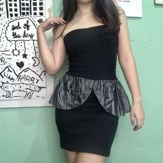 Black Tube Cocktail Dress