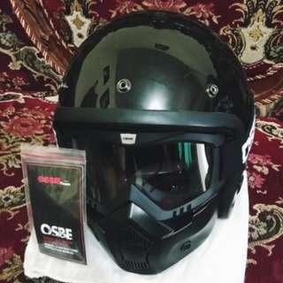 Helm Bogo+Google Masker