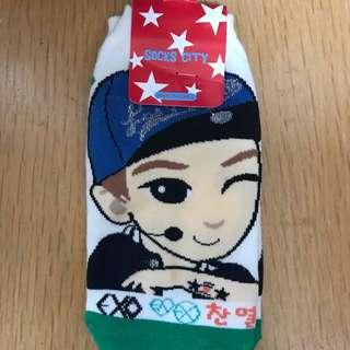 EXO 燦烈 襪子