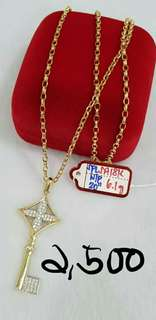 Authentic 💯✔ real necklace with pendant