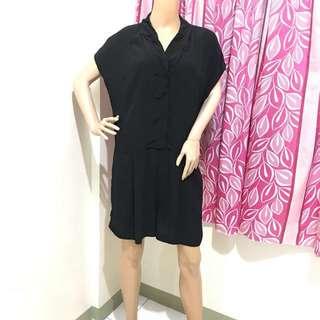 Size XL Elegant Romper Black