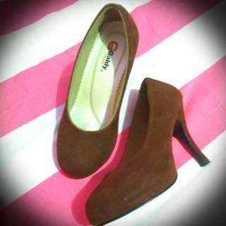 High Heels Galdy Brown (*Include Ongkir)
