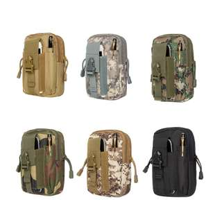 Dompet / Tas Pinggang Army Cowok Keren / Canvas Wallet import - FTS062
