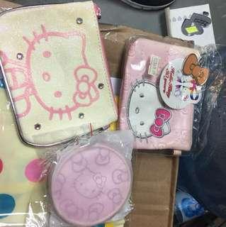 Hello kitty銀包