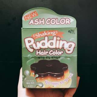 韓國染髮劑 Pudding Hair Color (Ash Color)