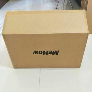 Once used carton box