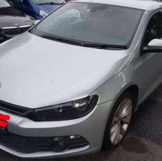 Volkswagen scirocco 1.4 tsi dsg turbo