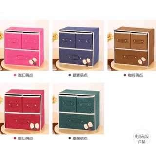 Foldable Woven Clothing Storage Box