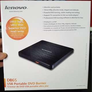 Lenovo DB65 USB Portable DVD Burner