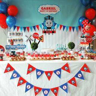 Personalised Birthday Banner - Thomas & Friends