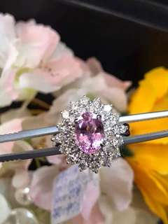 18k頂級粉紅寶石