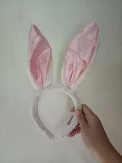 Bando Kelinci - Bando Bunny Ears Pink