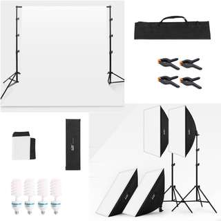 <SALE!>Photography Studio Lighting Package (Basic)