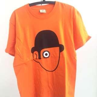 Men TShirt Fashion Orange