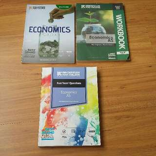 A-Levels AS Econonics book set