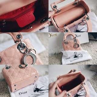 Lady D1oR Petite Mini Bag