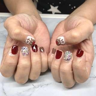 $8 Express Gel Mani | manicure | nails | cny