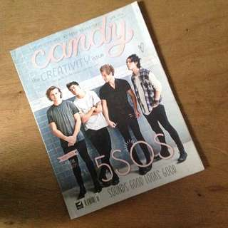 5 Seconds of Summer (5SOS) & The Vamps Candy Magazine
