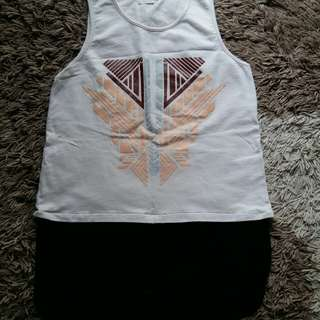 Baju Tanktop Dalaman Tanpa Lengan Merek Gaudi Not Zara New Look H&M Stradivarius Cotton On Berskha