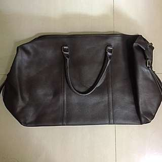 Brand New Faux Leather Duffel Bag