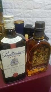 Ballentines 威士忌兩瓶700ml合售