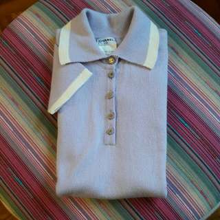 Chanel cashmere vintage knit