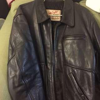 Diesel leather jacket 牛皮皮䄛