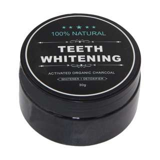100% Charcoal Bamboo Teeth Whitening