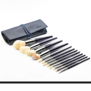 12Pcs Powder Makeup Brushes Blush Highlight Eyeshdow Pencil Foundation Kits