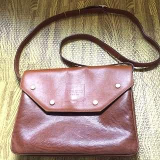 Nina ricci sling bag with flaws
