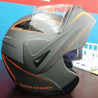 Flip up fullface helmet lelong!!! 260 only