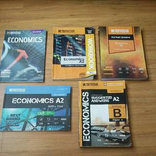 A-Levels A2 Economics Book set
