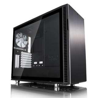 Fractal Design Define R6 Black TG Tempered Glass
