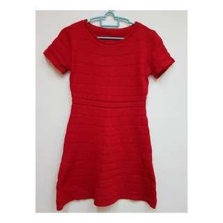 Red Skater Dress (New)