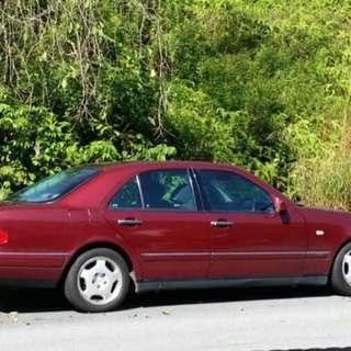 Mercedes Benz W210 - E240 2.4L Auto Year 1998