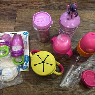 Sippy Cups and Snacks Container