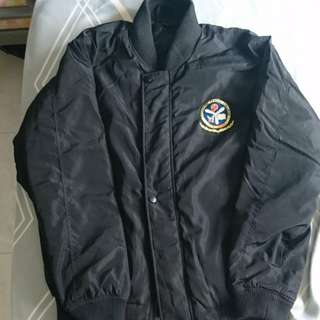 Black Aviators Jacket Size L