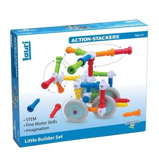 Lauri Action-Stackers Little Builder Set