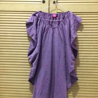Purple dress sophie martin