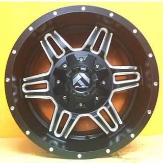 17 inch SPORT RIM 4x4 FUEL D554 FULL BLOWN OFFROAD