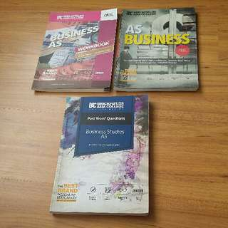 A-Levels AS Business book set