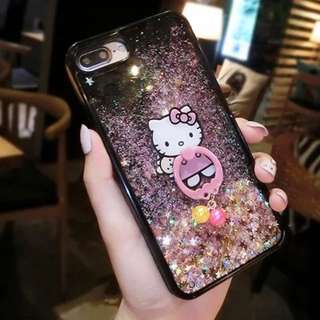 Hello Kitty Glitter Case with iRing iPhone 6 Plus / 6s Plus