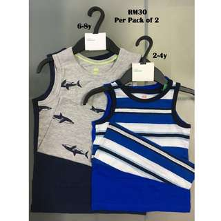 H&M 2-Pack Tank Top for 2-4y, 6-8y