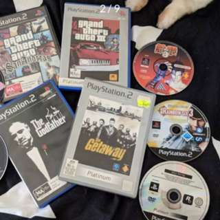PS2, PC, XBOX Games