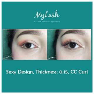 Eyelash Extension Service