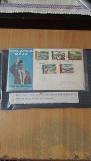 Stamp First Day Cover Politician