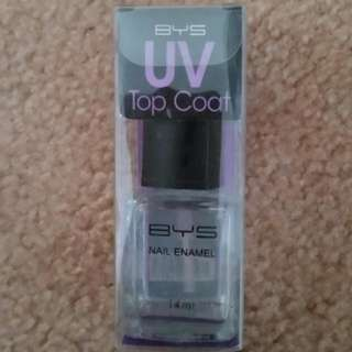 BYS UV Top Coat Nail Polish