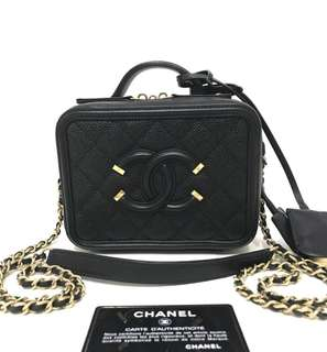 Authentic Chanel Vanity Small Bag