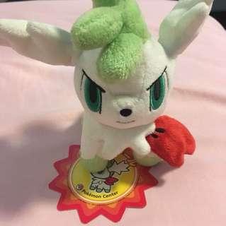 Pokemon Center Shaymin Sky Form Pokedoll Plushie Plush