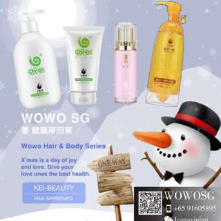 Wowo shampoo & Body series